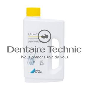 Orotol® Plus Désinfection des systèmes d'aspiration (2,5L) - DÜRR DENTAL