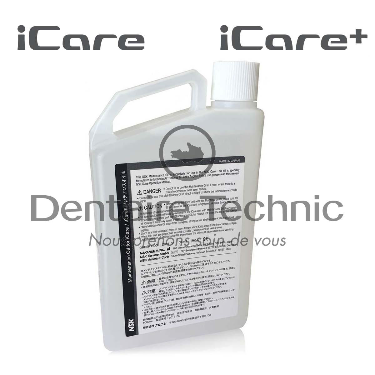 Huile d'entretien N.Oil 1L ICare / ICare+ - nsk