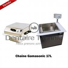 Pack Cuve à ultrasons Sonocleaner 17L + Sécheur Cyclonic 17L - Gamasonic